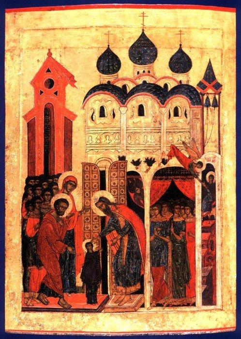 Введение Богородицы во храм. Ярославль. 1560-е гг.