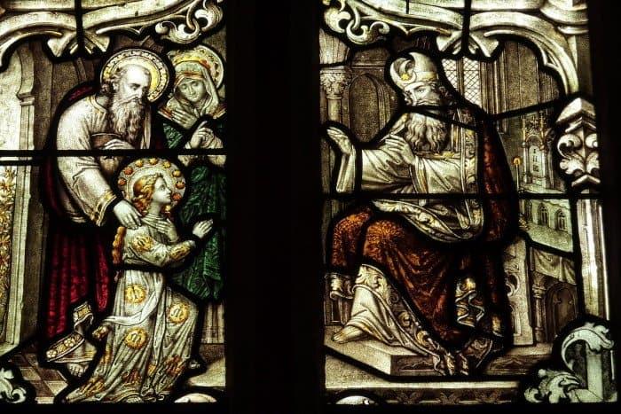 Введение Марии в храм. Храм Св. Троицы, Монреаль Эйфель, Германия