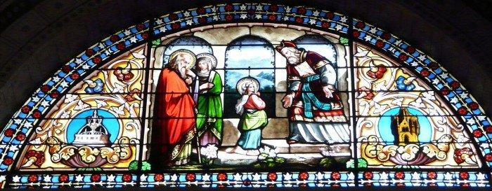 Введение Марии в храм. Храм Свт. Николая. Нерак, Ло и Гаронна, Франция
