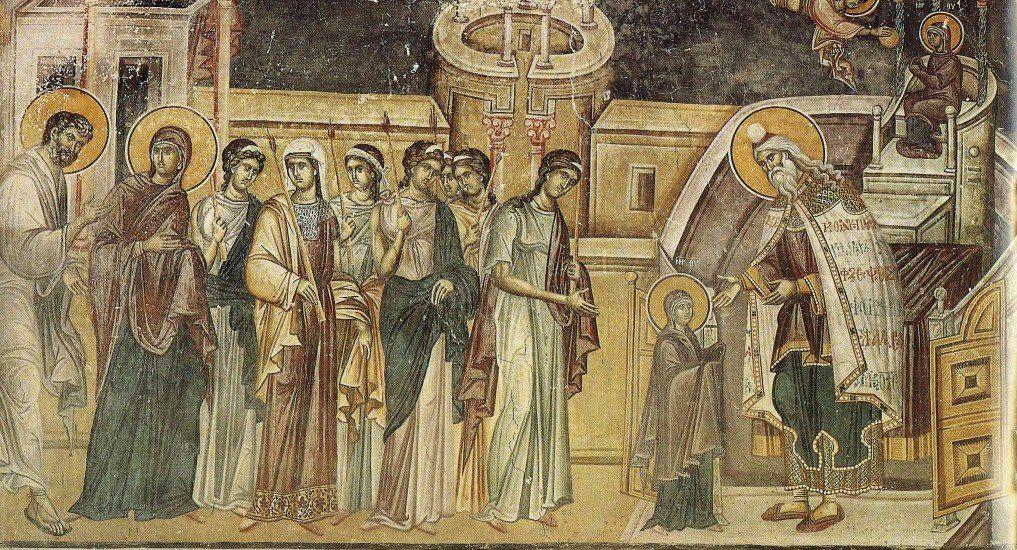 Введение во храм Пресвятой Богородицы. Иконы