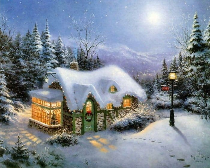Картинки и Фото Рождества: Кинкейд