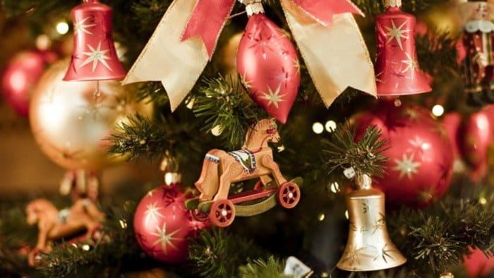 Фото Рождества: ель, игрушки