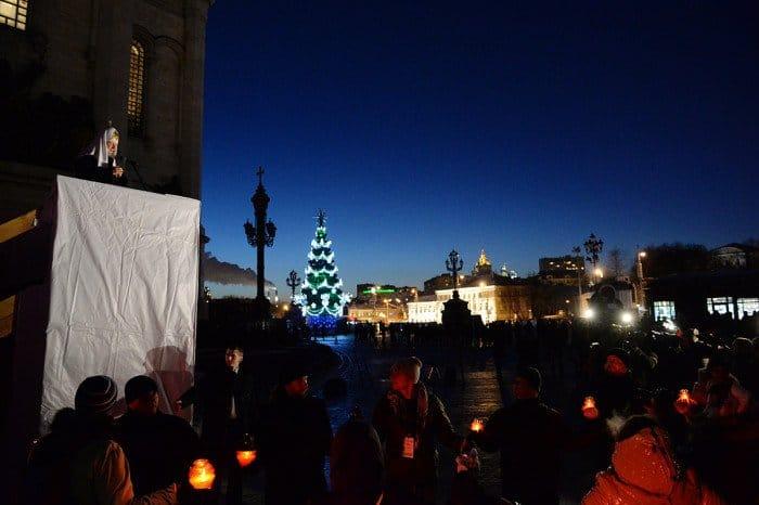 7 января. Патриаршее служение в праздник Рождества Христова в Храме Христа Спасителя в Москве