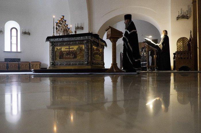 24 февраля. Патриаршее служение во вторник первой седмицы Великого поста в Зачатьевском ставропигиальном монастыре