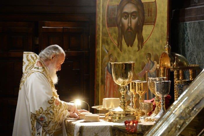 24 мая. Патриаршее служение в день памяти святых равноапостольных Мефодия и Кирилла в Храме Христа Спасителя