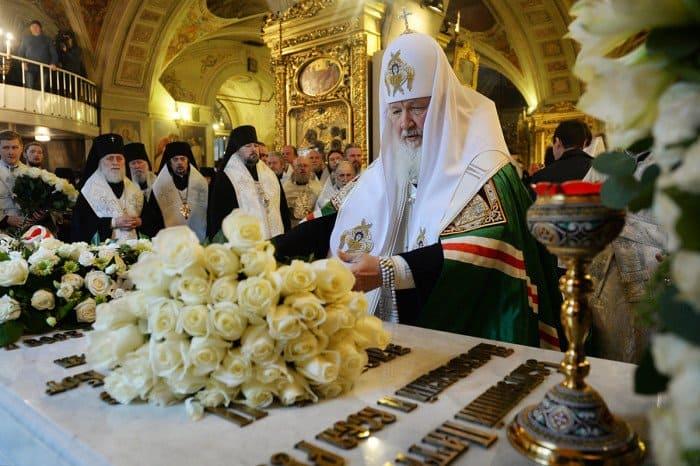 5 декабря. Заупокойное богослужение в Богоявленском кафедральном соборе г. Москвы в седьмую годовщину со дня кончины приснопамятного Патриарха Алексия II