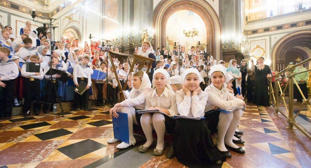 250 детей пригласил патриарх Кирилл на свой день рождения после совместного богослужения