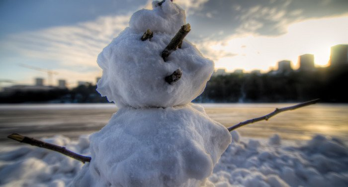 Блудница и снеговик