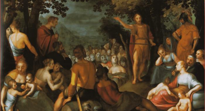 Иоанн Креститель: иконы и картины