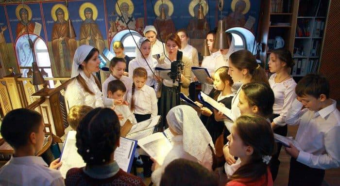 Впервые на патриаршем богослужении все песнопения исполнят дети