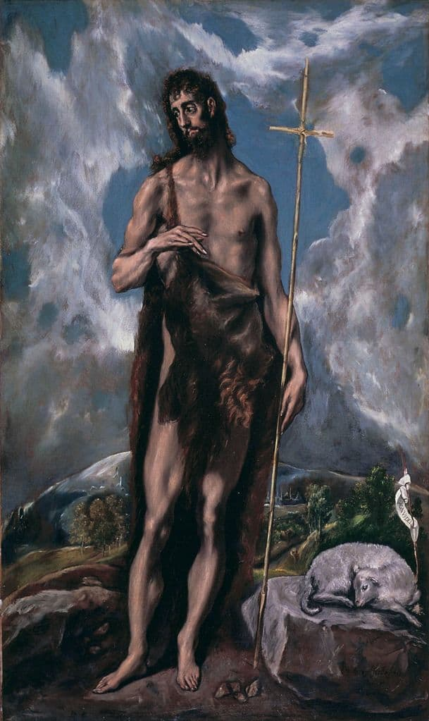 Эль Греко. Иоанн Креститель. 1600-1605
