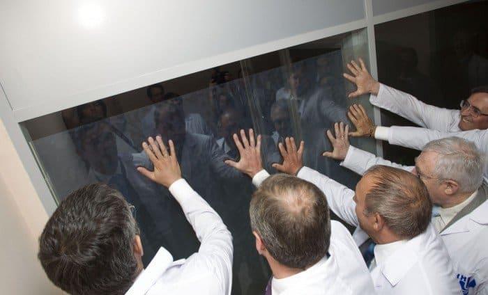 """Во время презентации суперкомпьютера """"Ломоносов"""". http://www.unn.ru/news/?id=2866"""