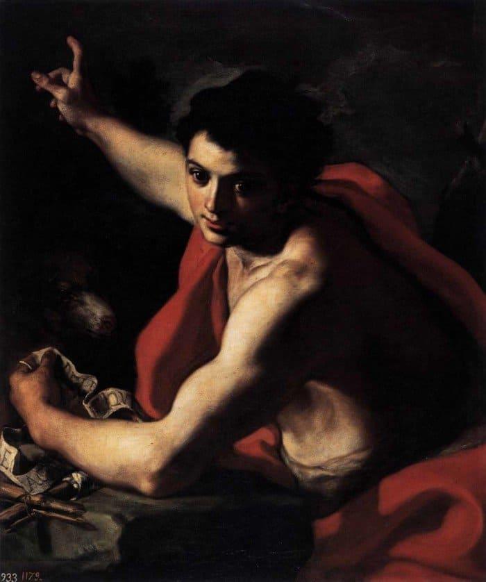 Франческо Солимена. Святой Иоанн Креститель