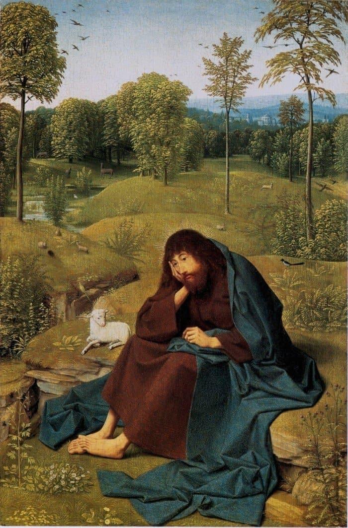 Гертген тот Синт Янс. Иоанн Креститель. ок.1490.