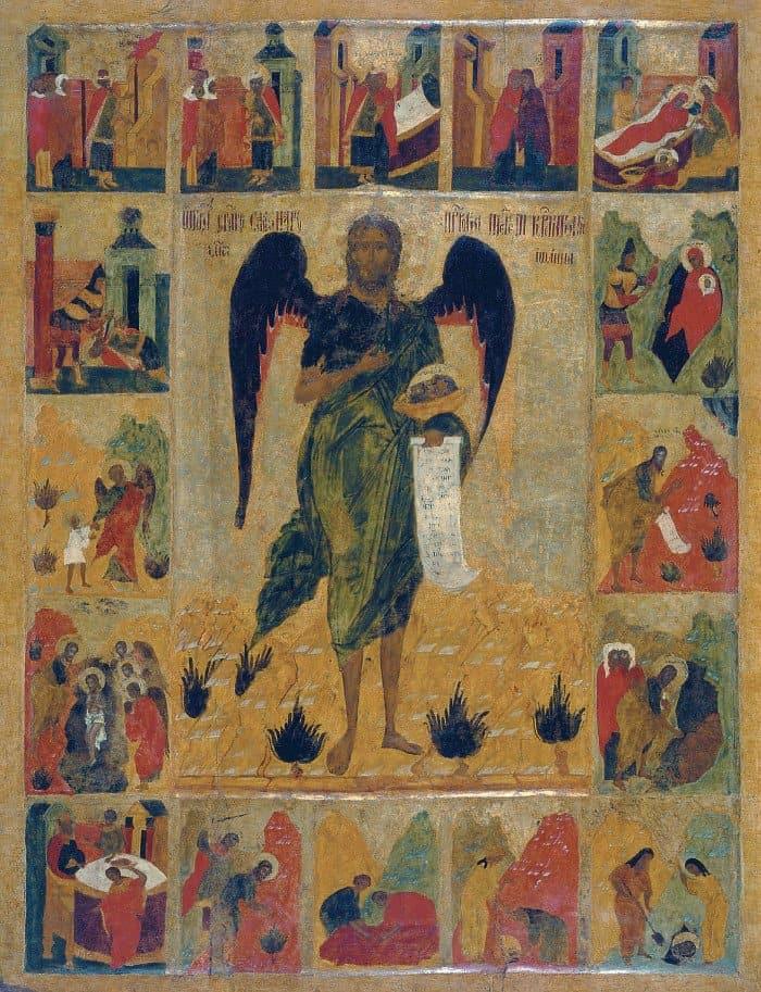 Иоанн Предтеча Ангел Пустыни. XVI в