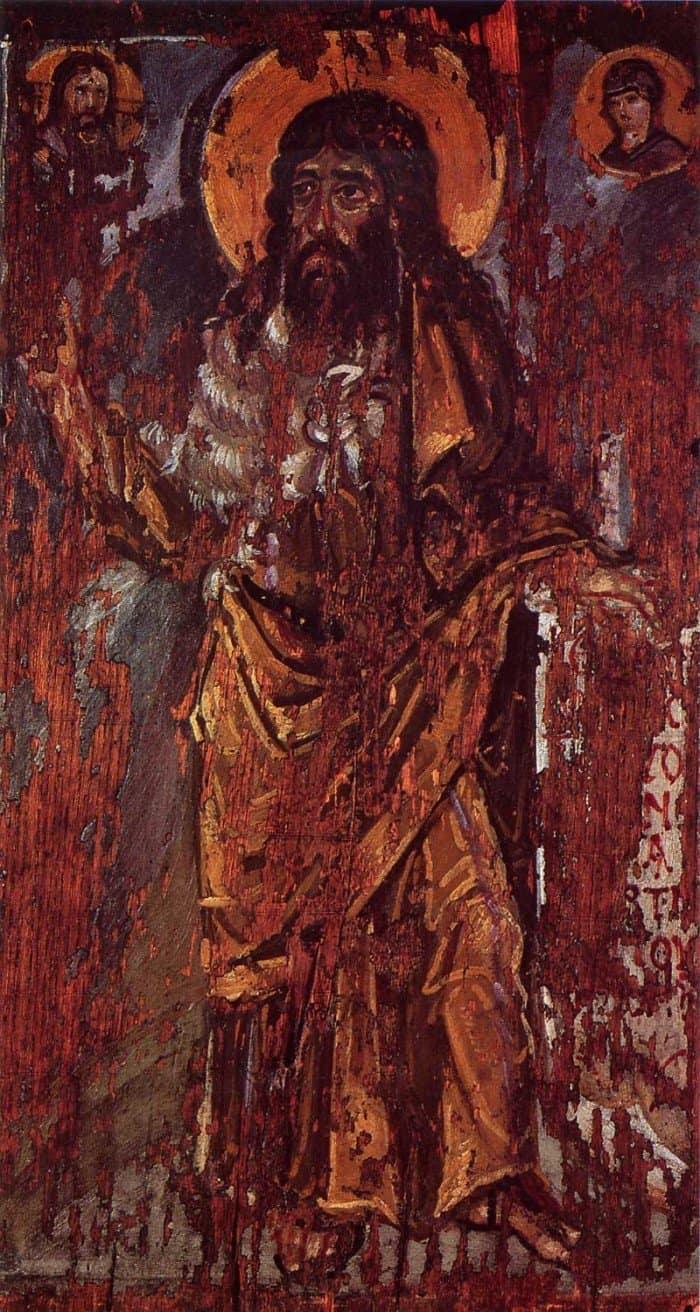 Иоанн Предтеча. Икона. Вторая половина VI в. Музей искусств им. Богдана и Варвары Ханенко, Киев