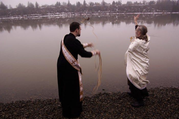 Крещенские купания. США Фото simply victoria