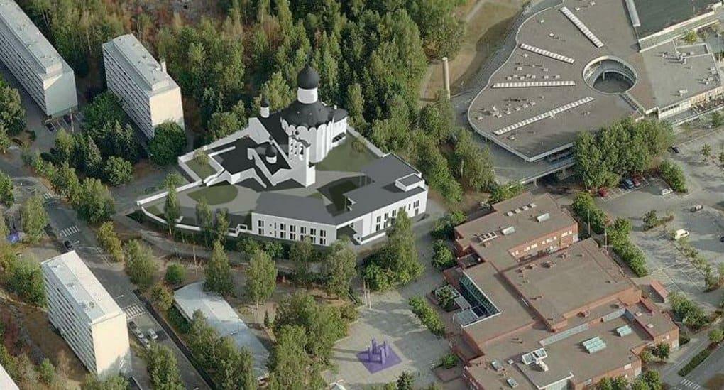 Один из престижных районов Хельсинки украсит православный храм
