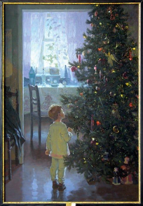 Утро Нового года. Александр Левченков. 1999