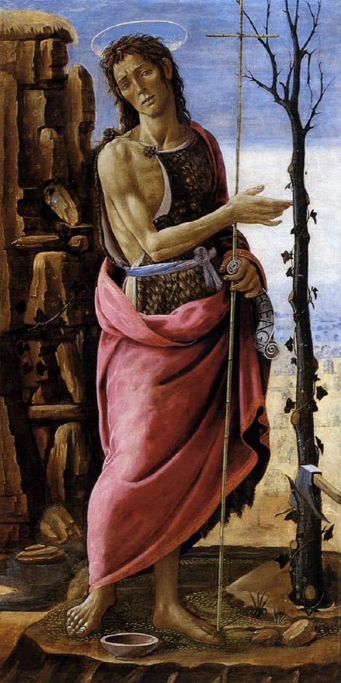 Якопо дель Селлайо. Святой Иоанн Креститель. 1485