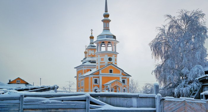 Вилюйск - две стороны неба