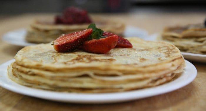 Пошаговый рецепт блинов с фото