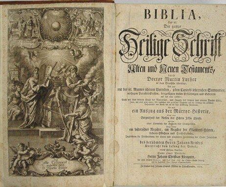 Библия Лютера
