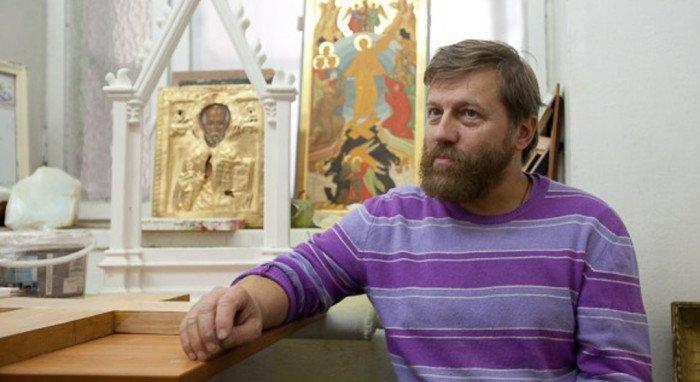 В Москве покажут иконы Александра Соколова, написавшего список «Неупиваемой чаши»