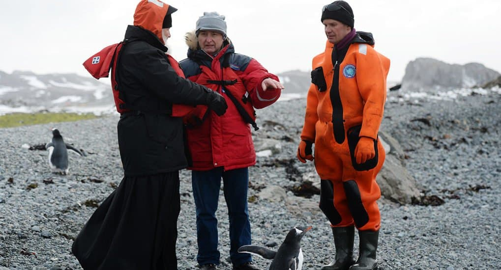 Антарктида мне напоминает Рай, - Святейший Патриарх Кирилл