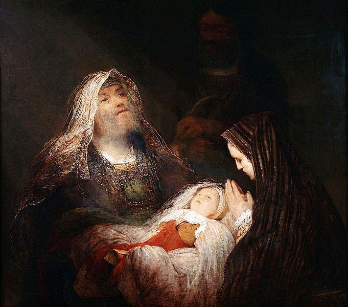 Арент де Гелдер - Гимн Симеона, ок 1700-1710.