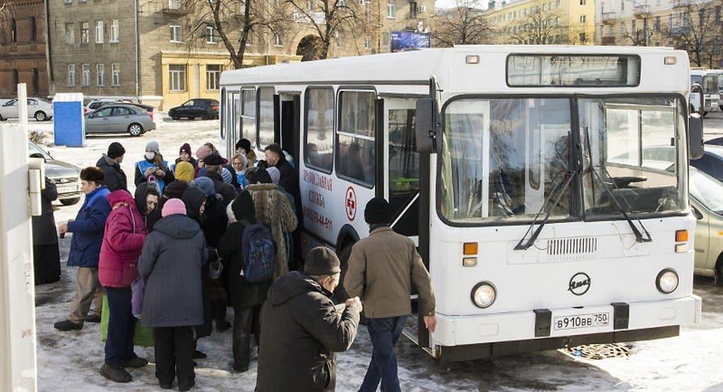 Воронежским бездомным поможет «Автобус милосердия»