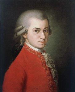 Моцарт. Посмертный портрет кисти Барбары Крафт (1819). Источник фото wikipedia.org