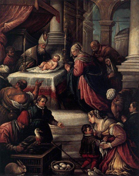 Франческо Бассано-младший. Сретение Господне