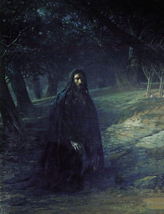 Христос в Гефсиманском саду. 1869-1880