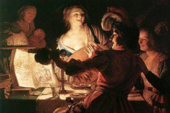 Геррит ван Хонтхорст. Блудный сын. 1622