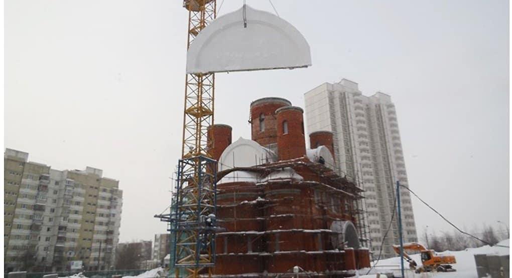 Столичный храм праведного Федора Ушакова достроят к концу 2016 года