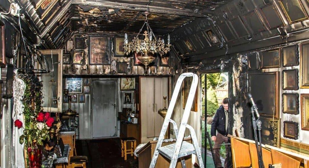 Поджог храма на Украине - дело рук безбожников, - Владимир Легойда