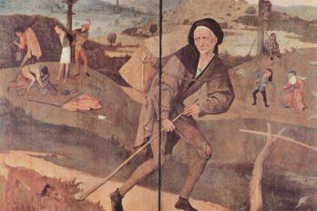 Иероним Босх. Блудный сын (Путник, Странник, Пилигрим). Около 1516