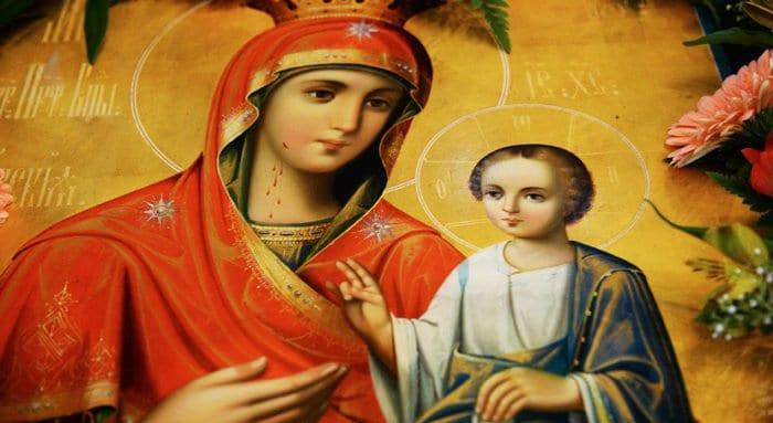 Церковь празднует память Иверской иконы Богородицы