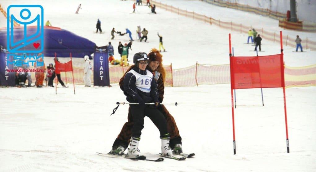 Дети-инвалиды впервые посоревнуются на горных лыжах