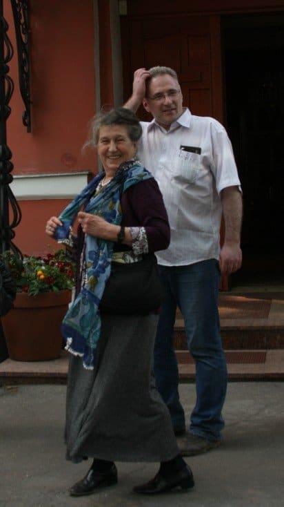 Юлия Вознесенская и Михаил Хасьминский