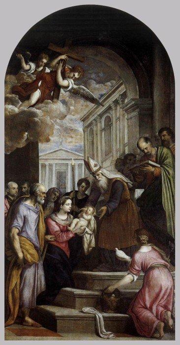 Пальма иль Джоване. Принесение Христа во храм