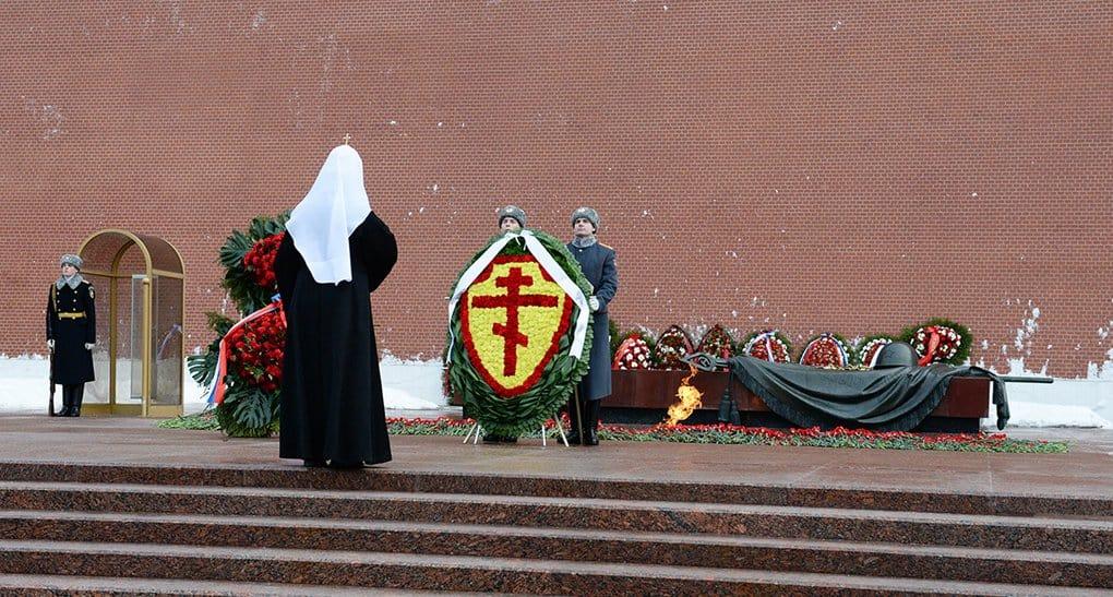 Патриарх Кирилл помолился о погибших защитниках Отечества