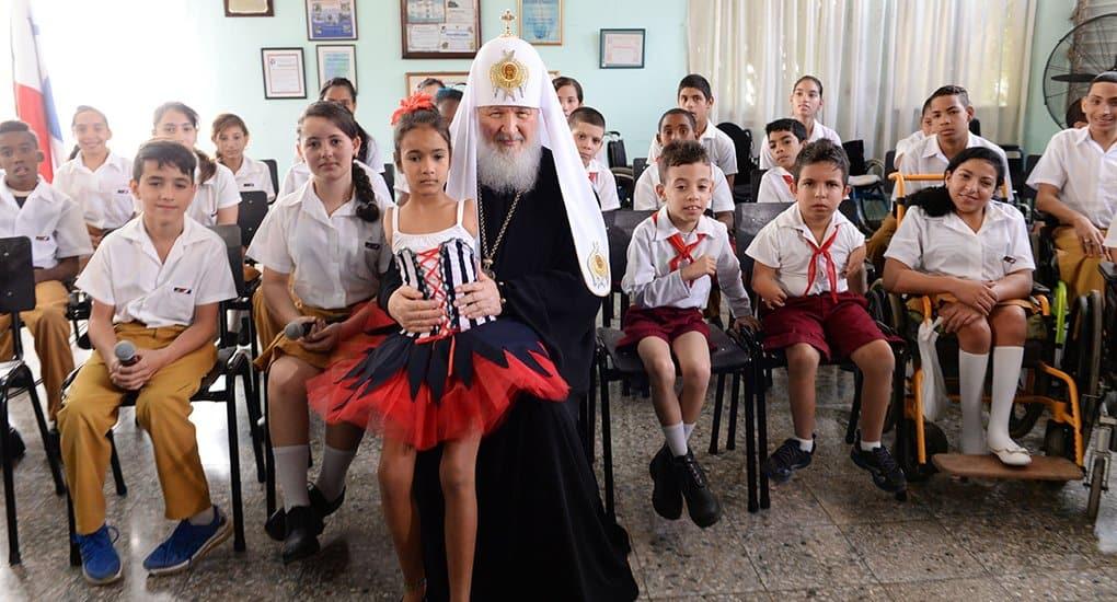 Посещение детей из реабилитационного центра - важная эмоциональная точка визита в Латинскую Америку, - архимандрит Филар...