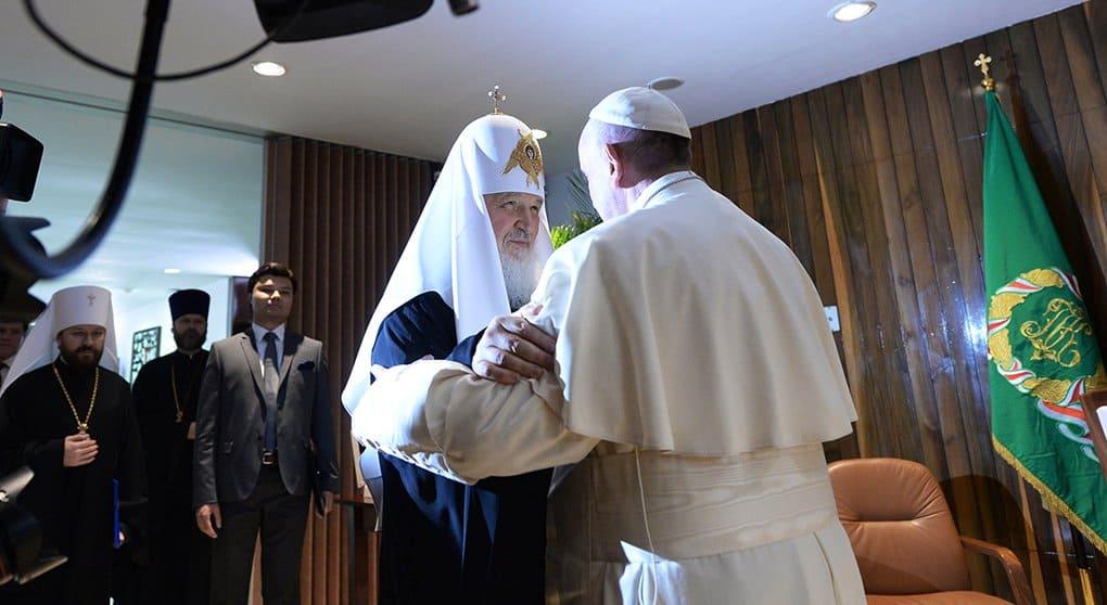 Встреча Патриарха и Папы - новая страница в диалоге двух церквей, - Владимир Легойда
