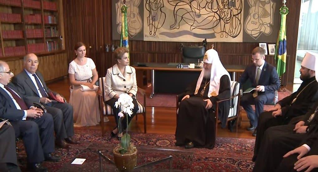 На встрече с Президентом Бразилии Патриарх говорил о нравственности и гонениях