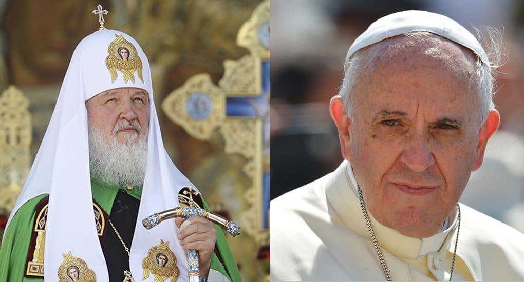 Встреча Патриарха с Папой Римским начнется около 10 часов вечера по Москве