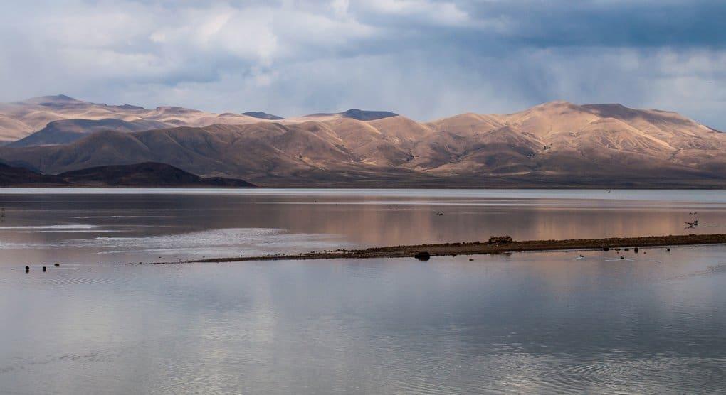 Полностью испарилось второе по величине озеро Боливии