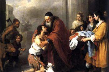 Возвращение блудного сына. Бартоломео Мурильо. 1667-1670