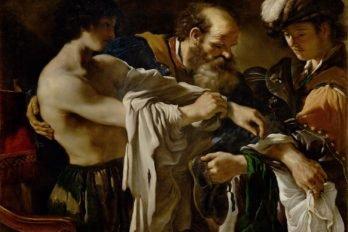 Возвращение блудного сына. Франческо Гверчино. 1619